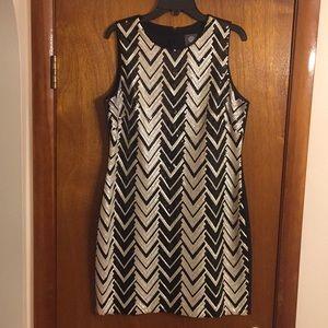 Vince Camuto Sequin Dress Size 14
